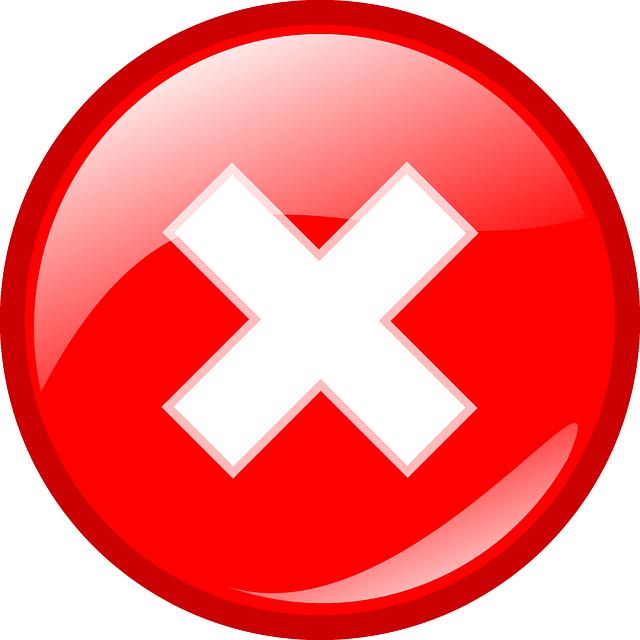 Red-X-cross